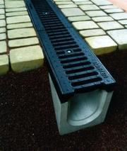 Система водовідведення,  водостоки,  бетонні жолуби Івано-Франківськ