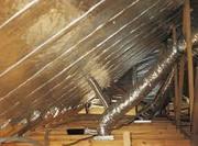 Изоляция для систем вентиляции,  трубопроводов,  теплотрасс. Утеплитель