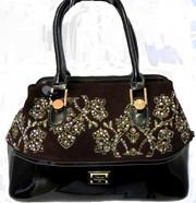 Женская сумка - саквояж Velina Fabbiano натуральная кожа