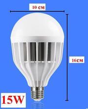 Мегаяркая Светодиодная лампа 15 Вт. E27