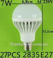 Лампа світлодіодна 7 Вт