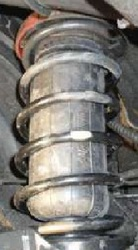 Пневмобаллоны (пневмоподушки) в пружины 250--600 грн