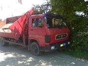 Вантажні перевезення до 6 тон самоскидом з маніпулятором(погрузчиком)
