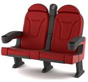 Крісла для кінотеатрів,  кінокрісла. Ціна від 540 грн/шт