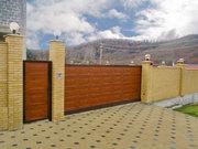 Откатные ворота алюминиевые АДС 400 Алютех