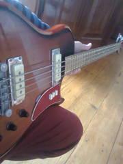 Модефікована бас-гітара Урал