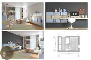 Дизайн інтер'єру  проекти та 3д візуалізація